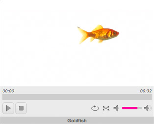 HTML5 video player using jPlayer
