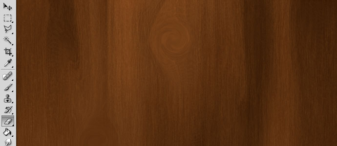 Finished wood grain texture